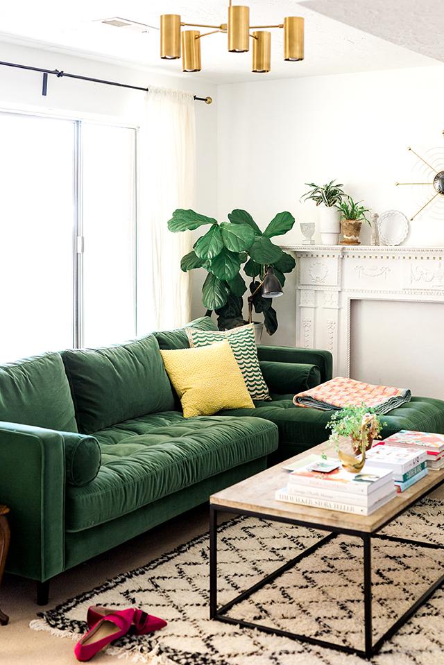 greenvelvetcouch sofa verde lolla - 4 design trends for 2019