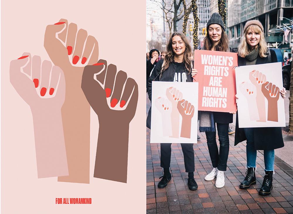 "Design by Deva Pardue for ""All Women Kind"""