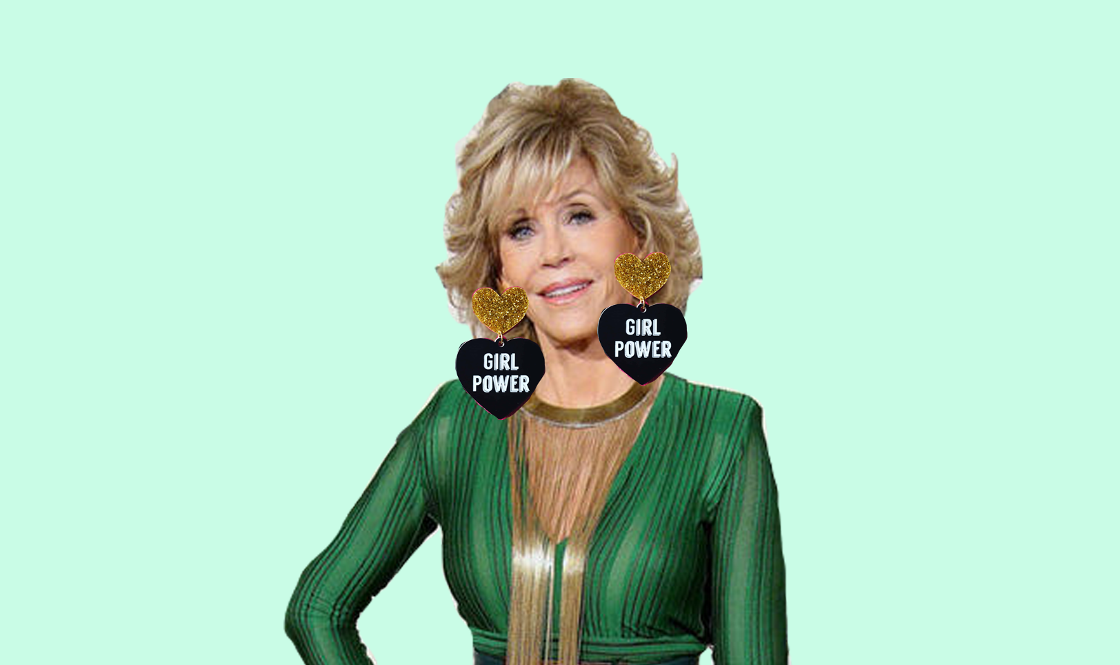 international womens day - Our Pick for International Women's Day? Jane Fonda.