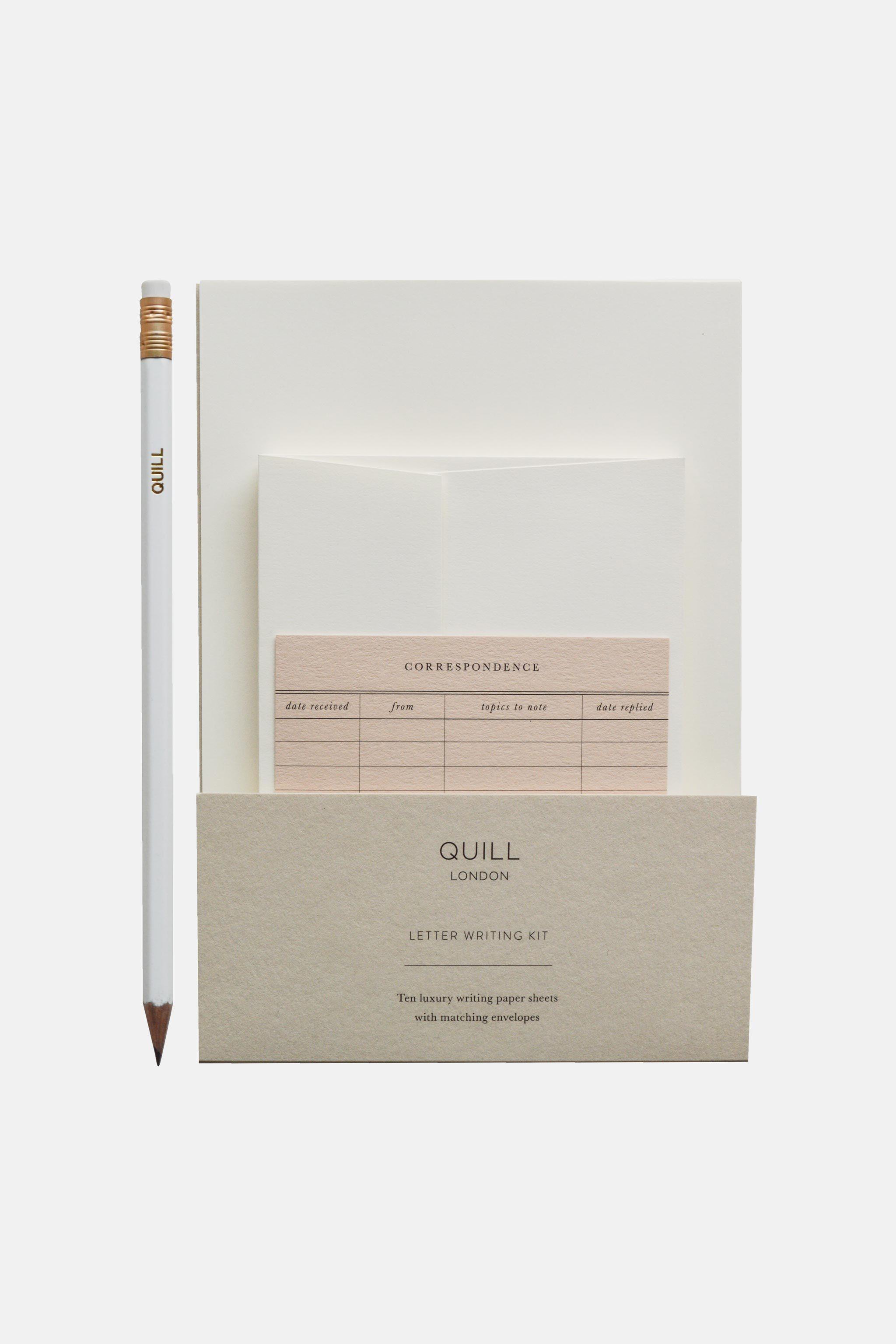 Quill London Stationery Letter Writing Kit - Como a experiência de fazer parte de um clube de cartas me ajudou a me conhecer melhor