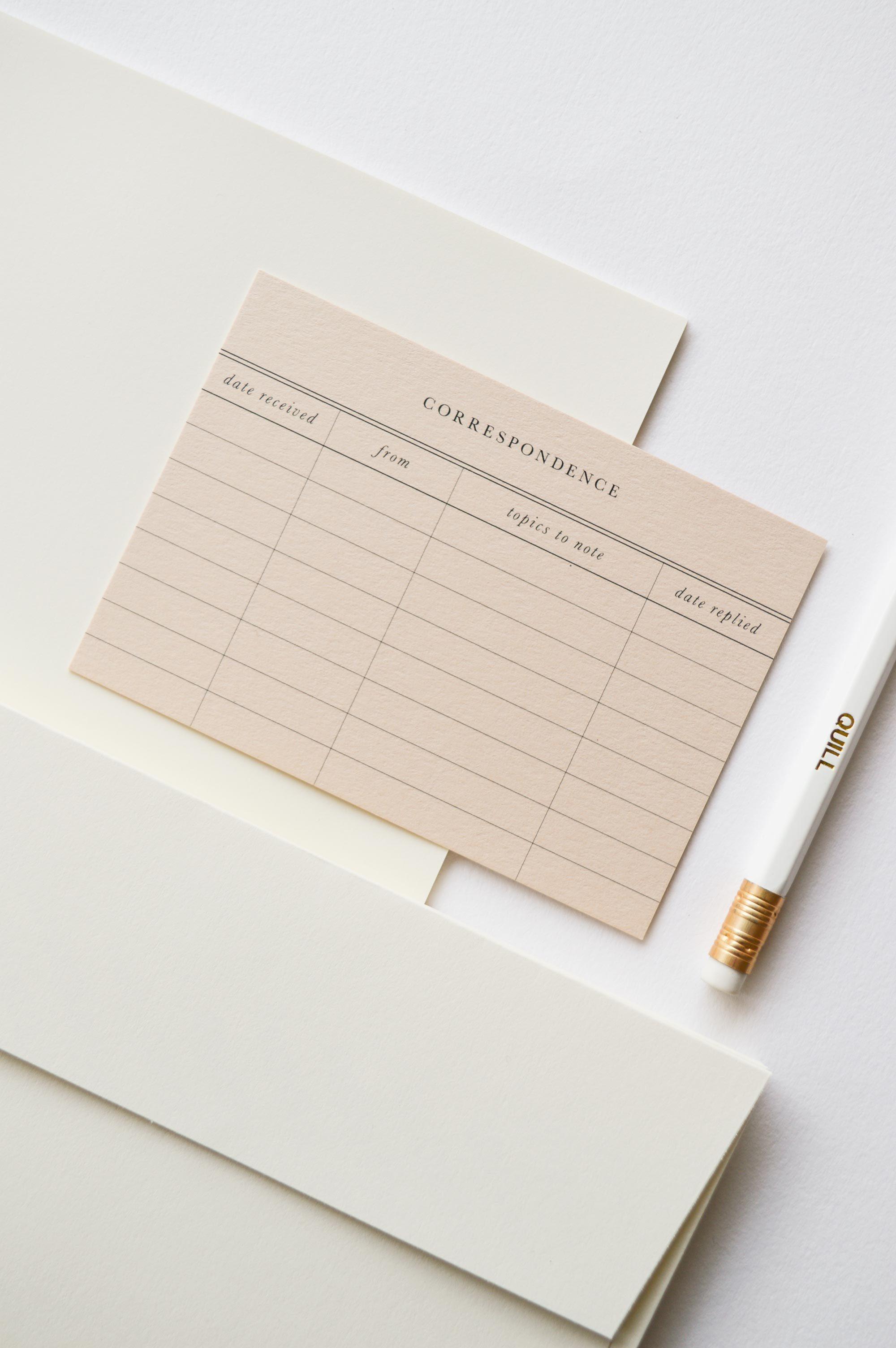 Quill London Letter Writing Kit 2 - Como a experiência de fazer parte de um clube de cartas me ajudou a me conhecer melhor