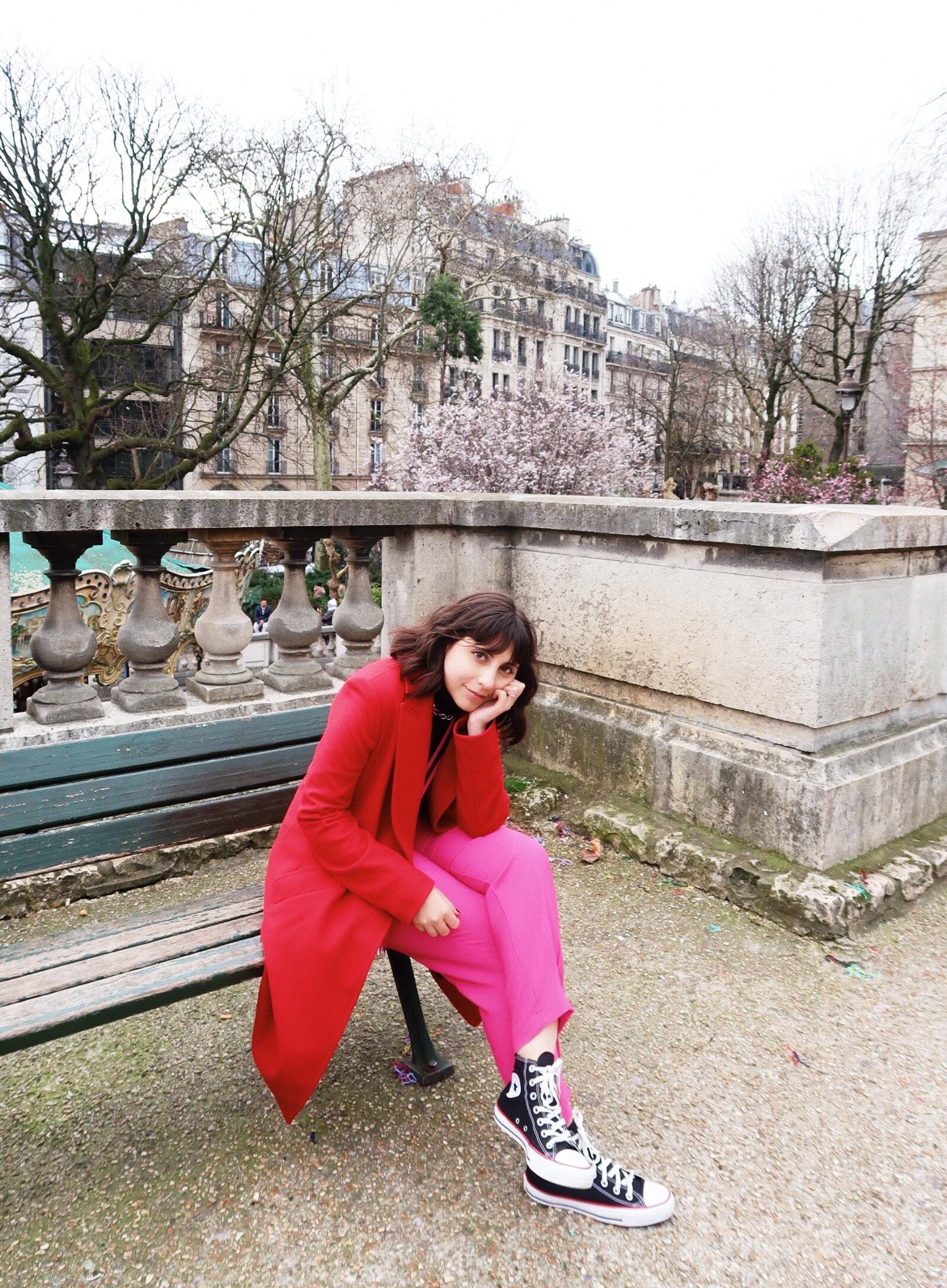 montmatre sofi ilove looks viagem lolla - Travel in style. Os looks da Sofia Stipkovic, head of content iLove.e, pela Europa.