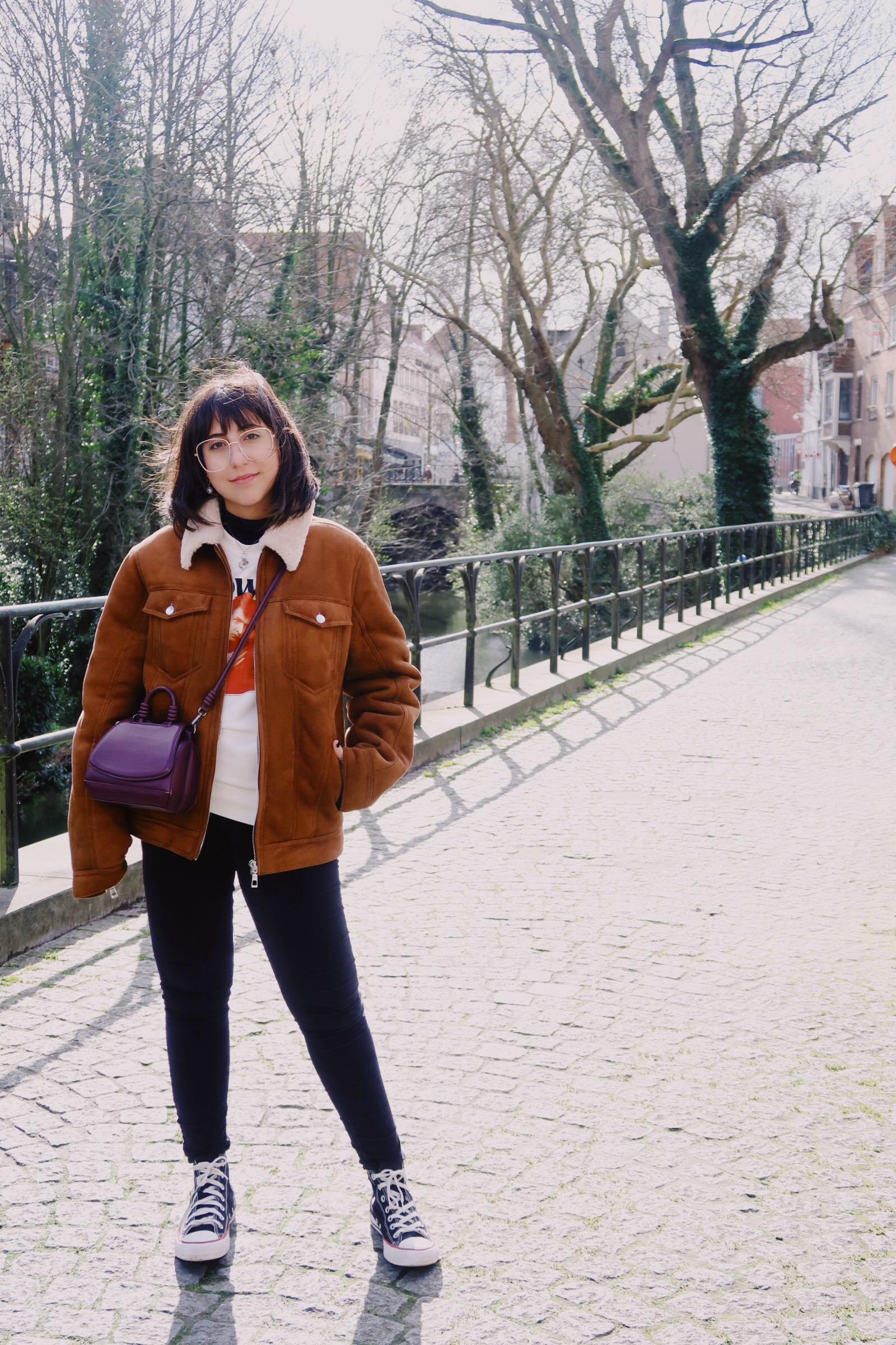 bruges sofi ilove looks viagem lolla - Travel in style. Os looks da Sofia Stipkovic, head of content iLove.e, pela Europa.