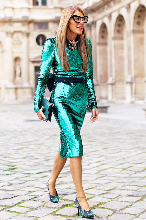 Pictured: Anna Dello Russo by    STOCKHOLM STREET STYLE