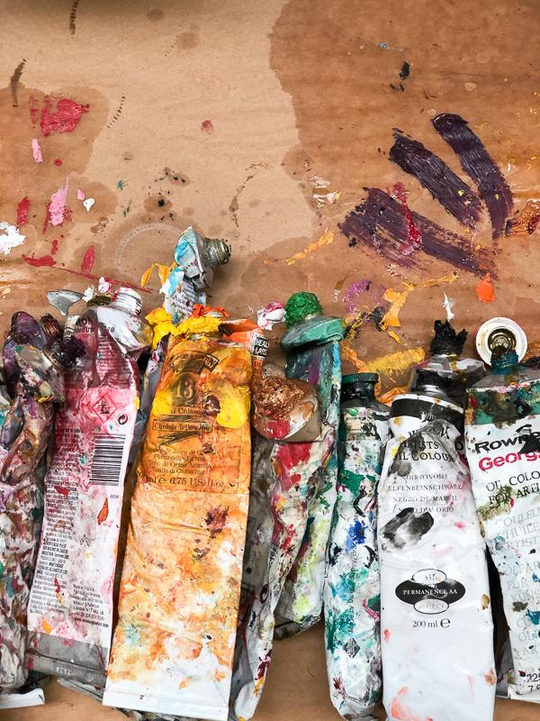 marina saleme estamparia lolla - Sobre Amizade e Estampas. Uma tarde no Atelier da Artista Plástica Marina Saleme.