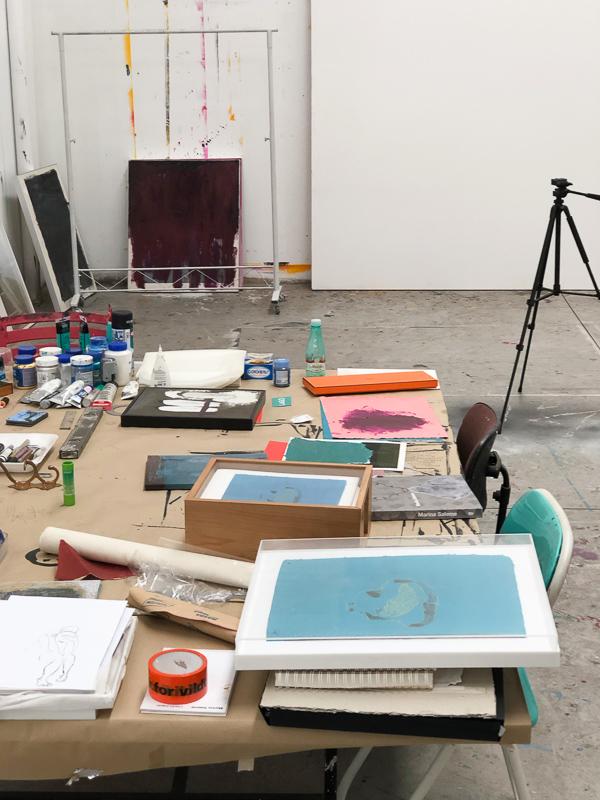 IMG 1566 - Sobre Amizade e Estampas. Uma tarde no Atelier da Artista Plástica Marina Saleme.