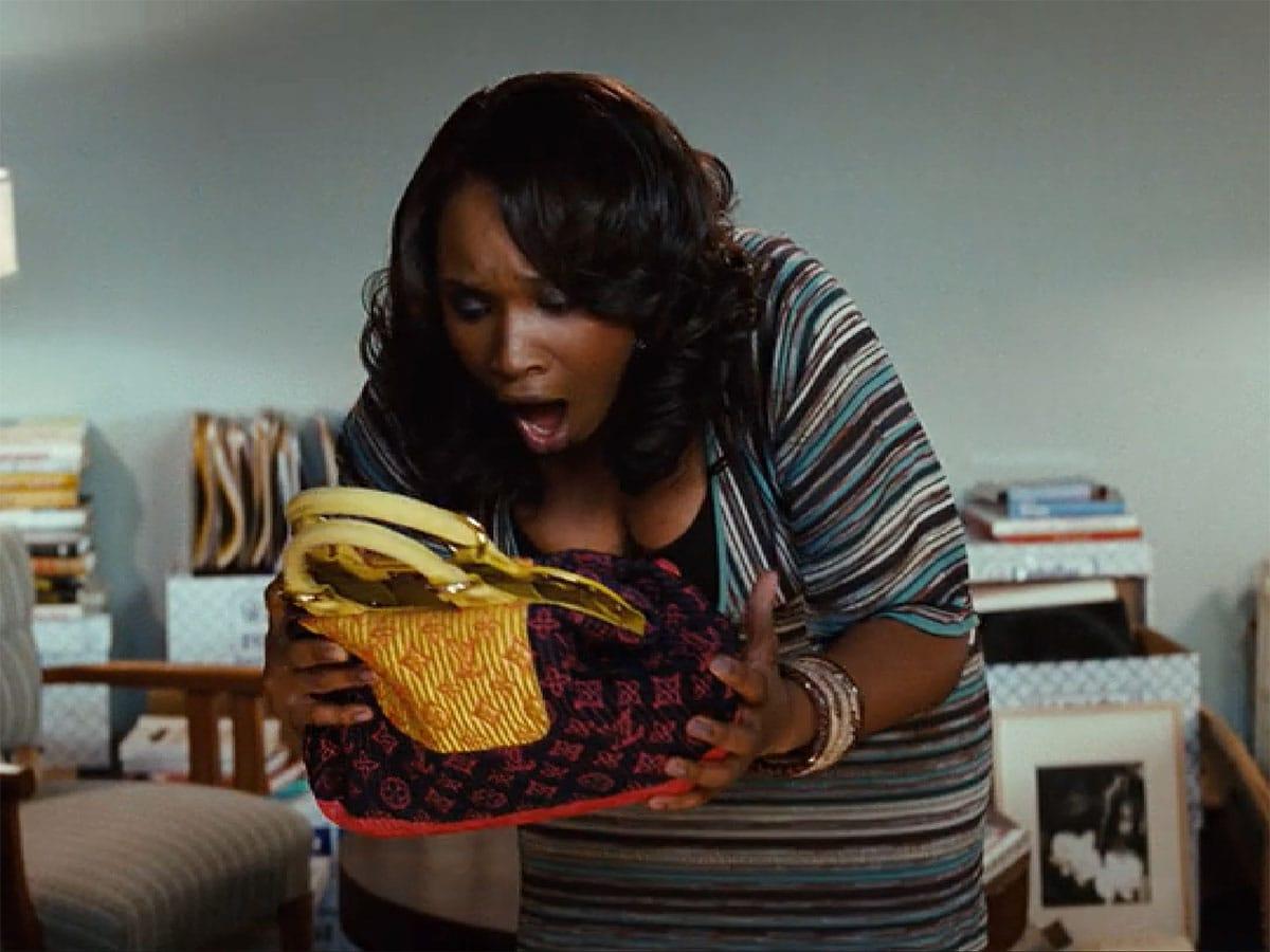 Sex and the City Jennifer Hudson Louis Vuitton Bag - O que alugar uma bolsa diz sobre você?