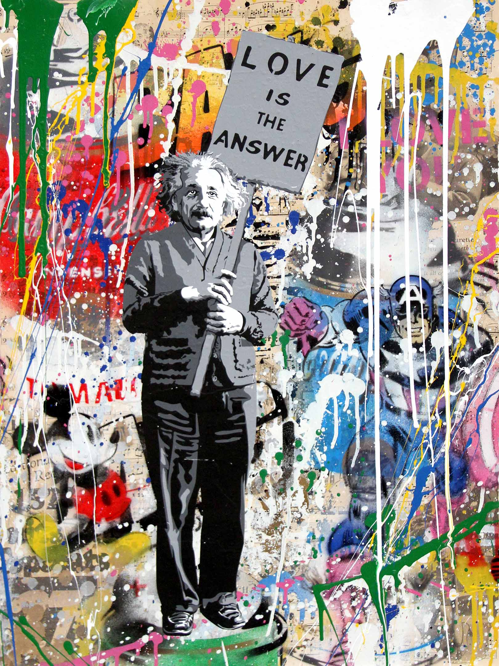Image: Mr. Brainwash - Denis Bloch Fine Art