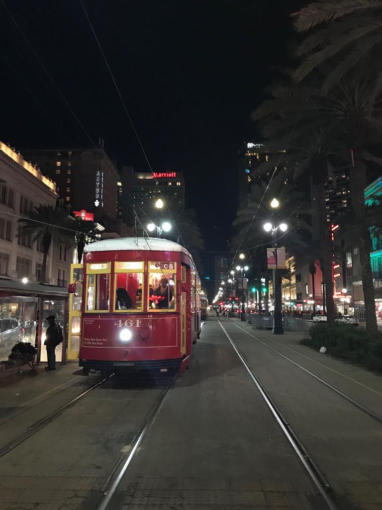 trolley+canal+st - Um final de semana em Nova Orleans
