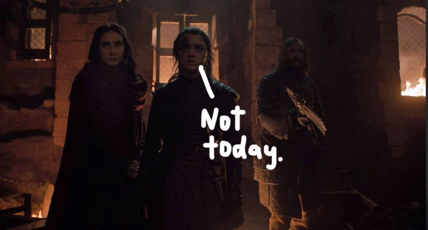 Arya Stark Saves Winterfell 860x464 - Game of Thrones Aficcionados: Winter is Coming… to an End!