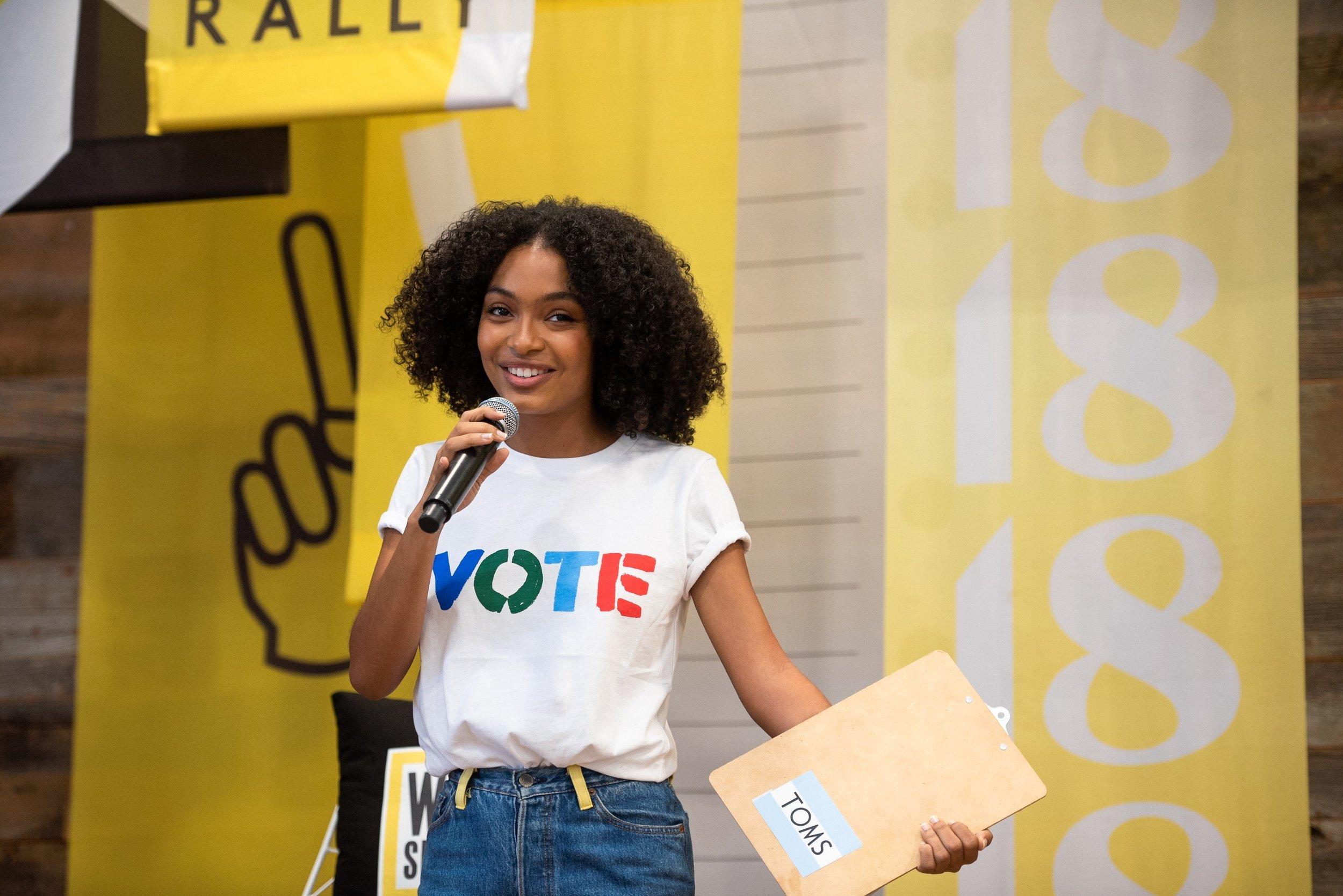 yara vote - My Girl Crush: Yara Sahidi