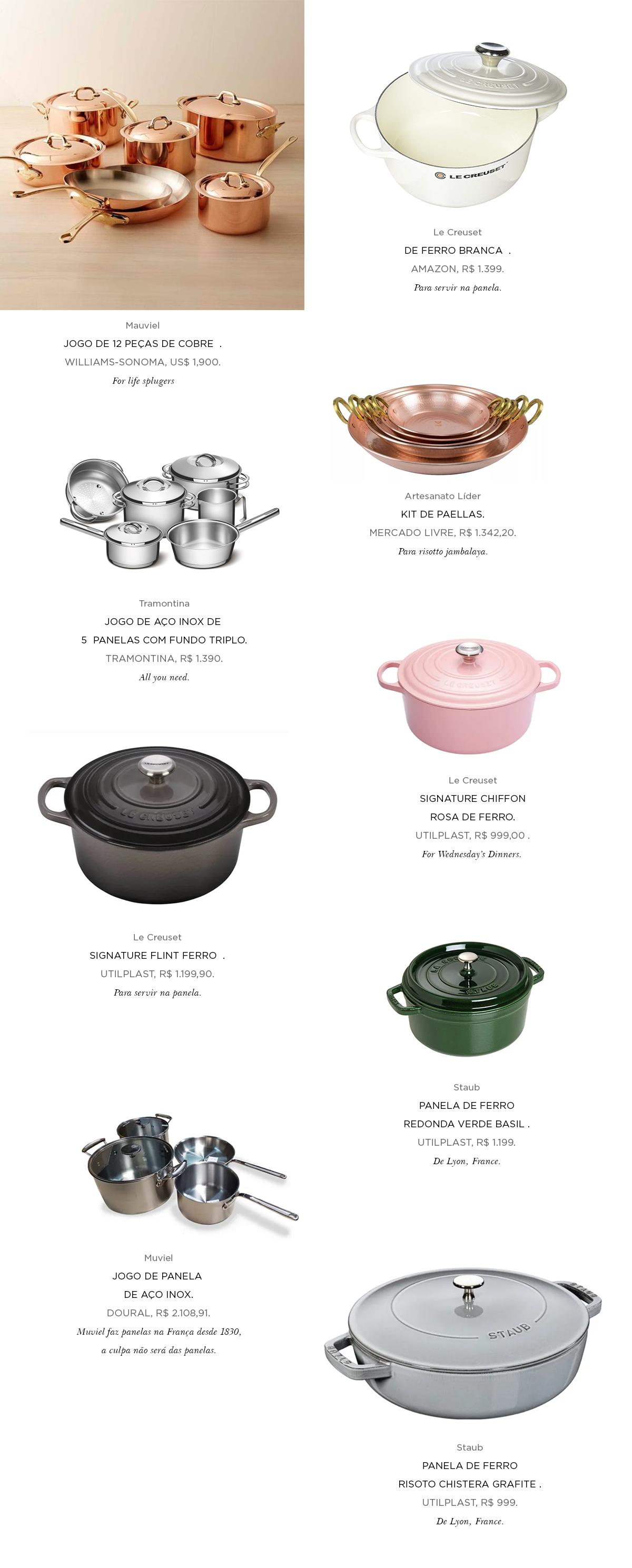 guide template panelas - Foodie Starter Pack: O kit de Panelas Ideal com Ajuda da Lu Zaidan