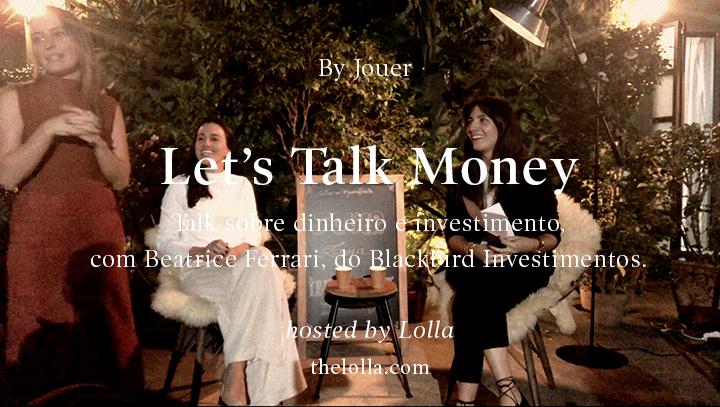 talk money video cover - Let's talk money: Os melhores insights do talk sobre dinheiro e investimento na Jouer