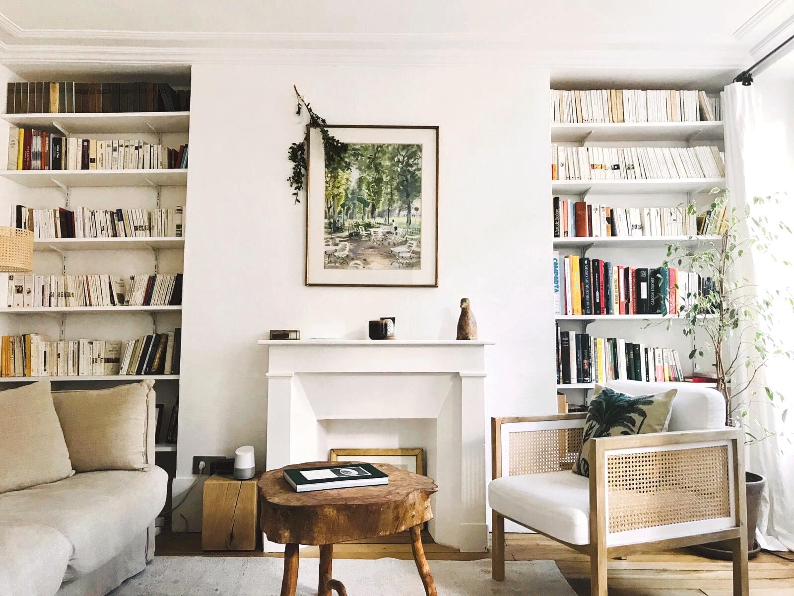 O apartamento da Mariana e do Guillaume em Paris, no 5ème