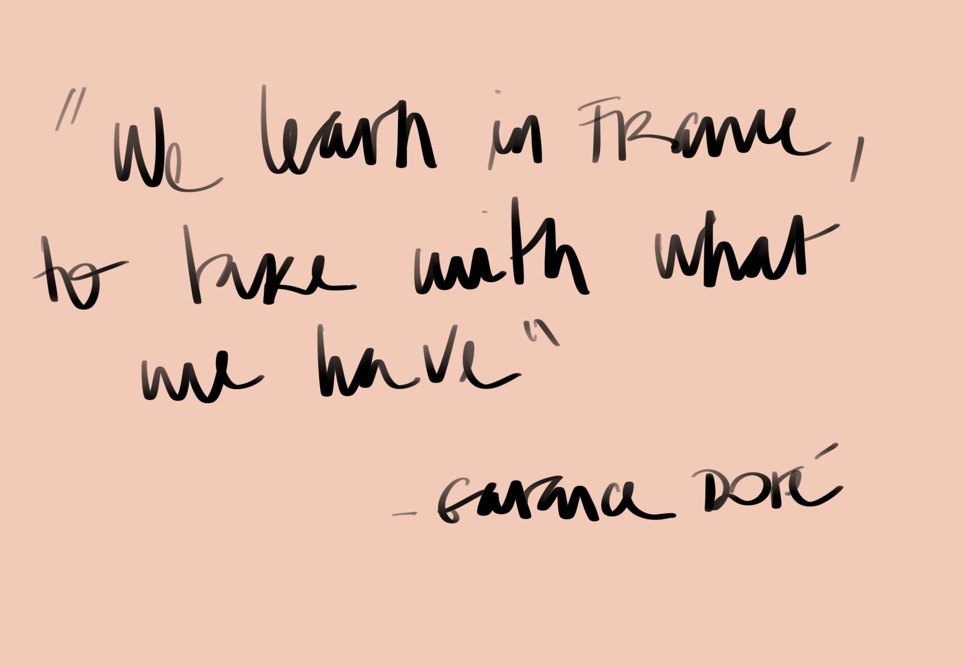 """""""Na França a gente aprender a viver com o que temos"""" - Garance Doré falando sobre beleza. Para aprender como as francesas e ser feliz com o que a gente tem."""