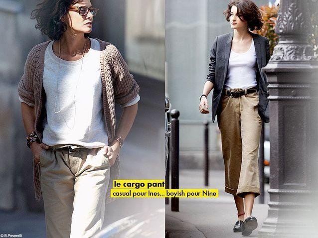 Mode diaporama look tendance ines de la fressange cargo pant - The Chino Pants: Em busca de uma calça cargo para comprar no Brasil.