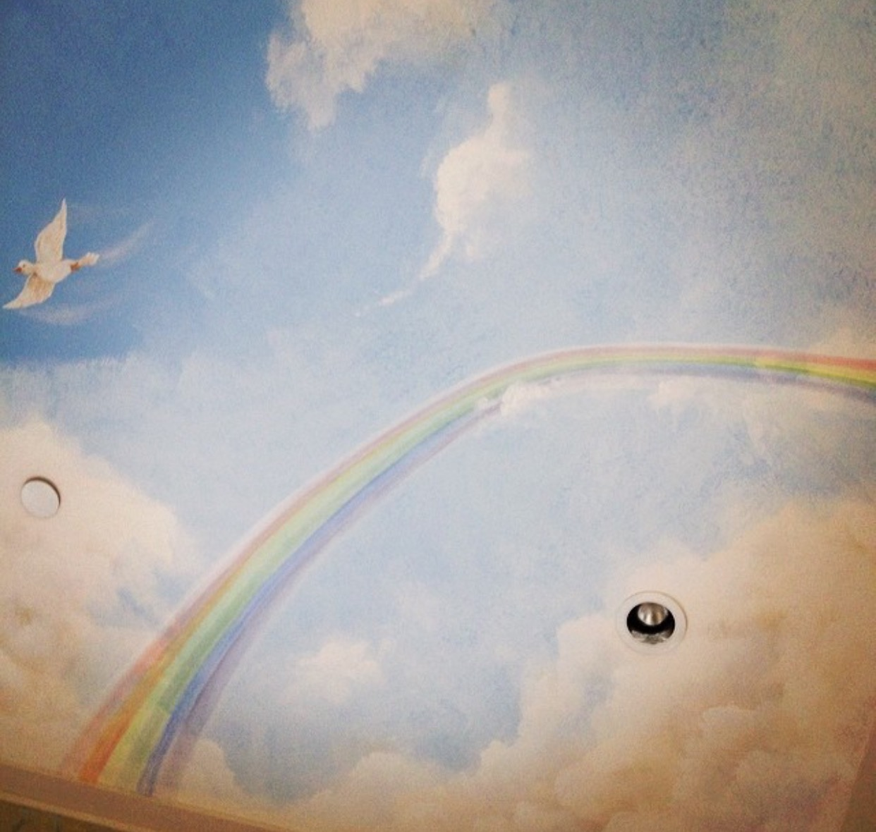 Nursery Ceiling in Beverly Hills, Ca.