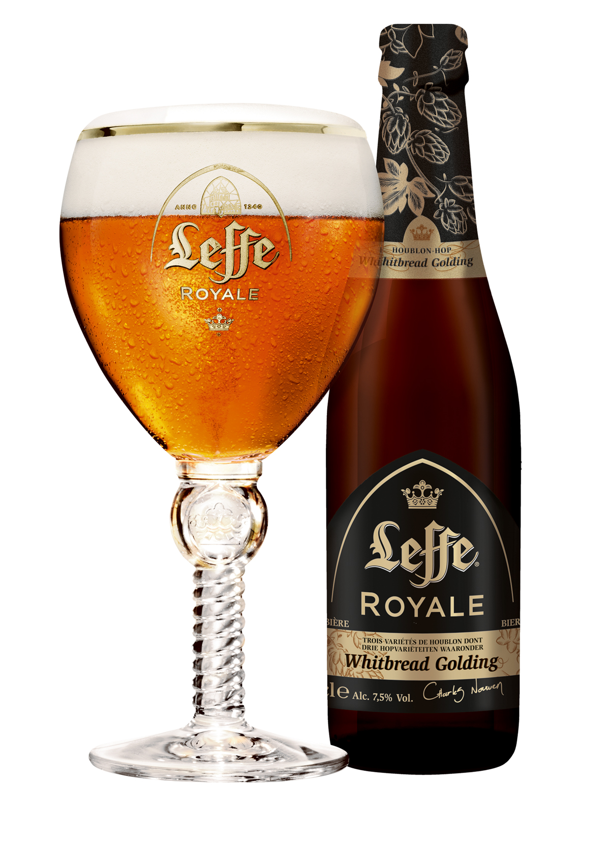 Leffe Royale Whitbread Golding -