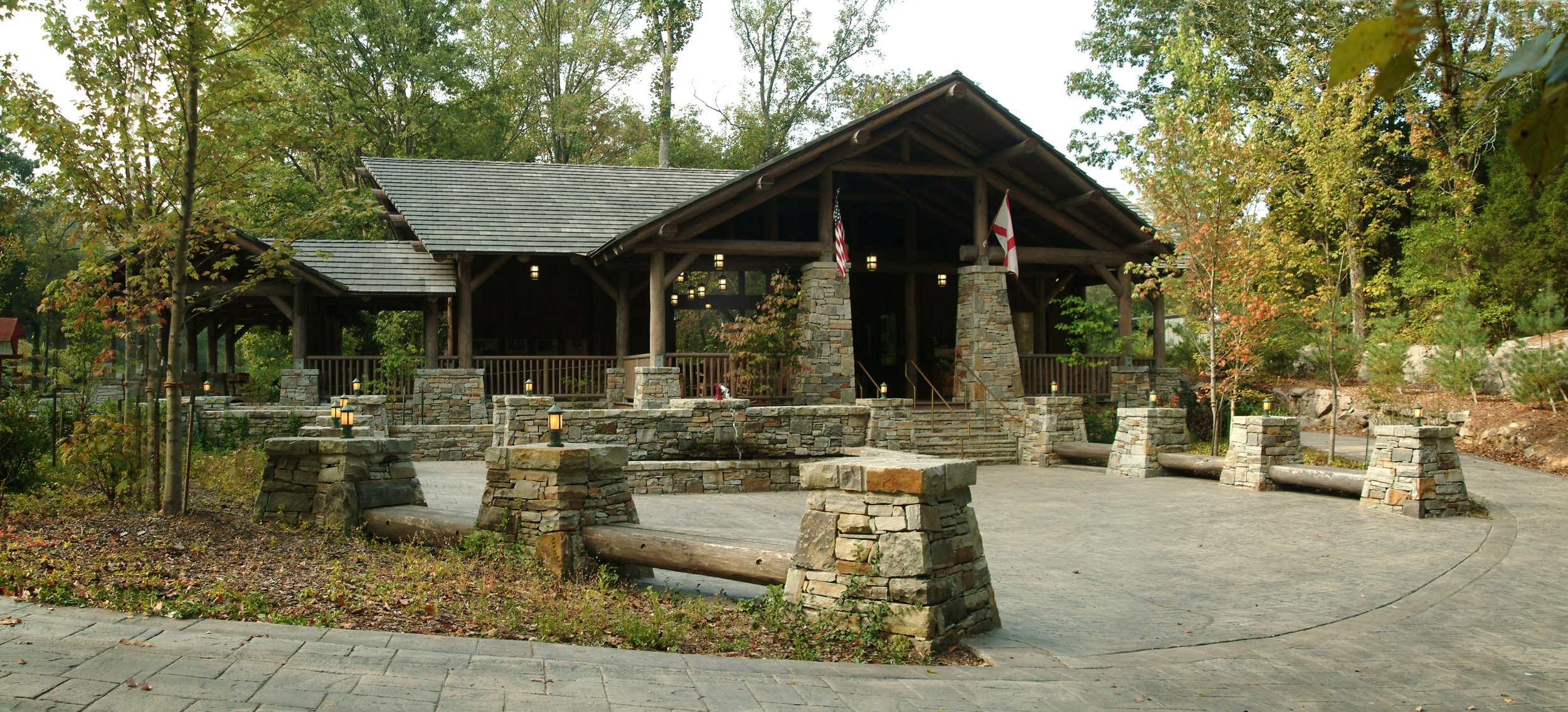 Cathedral Caverns Pavilion - Woodville, AL