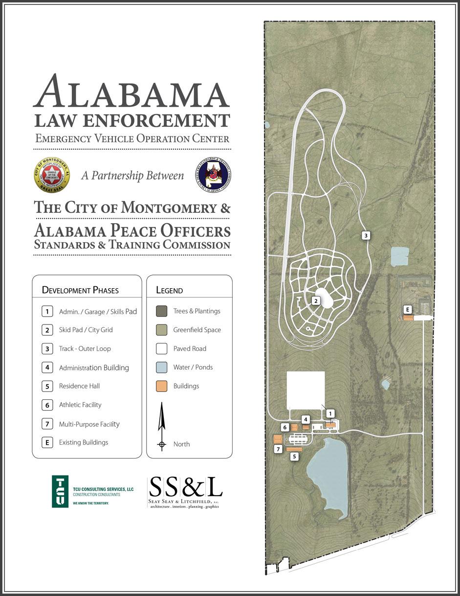 AL Law Enforcement Drivers Training Facility - Montgomery, AL