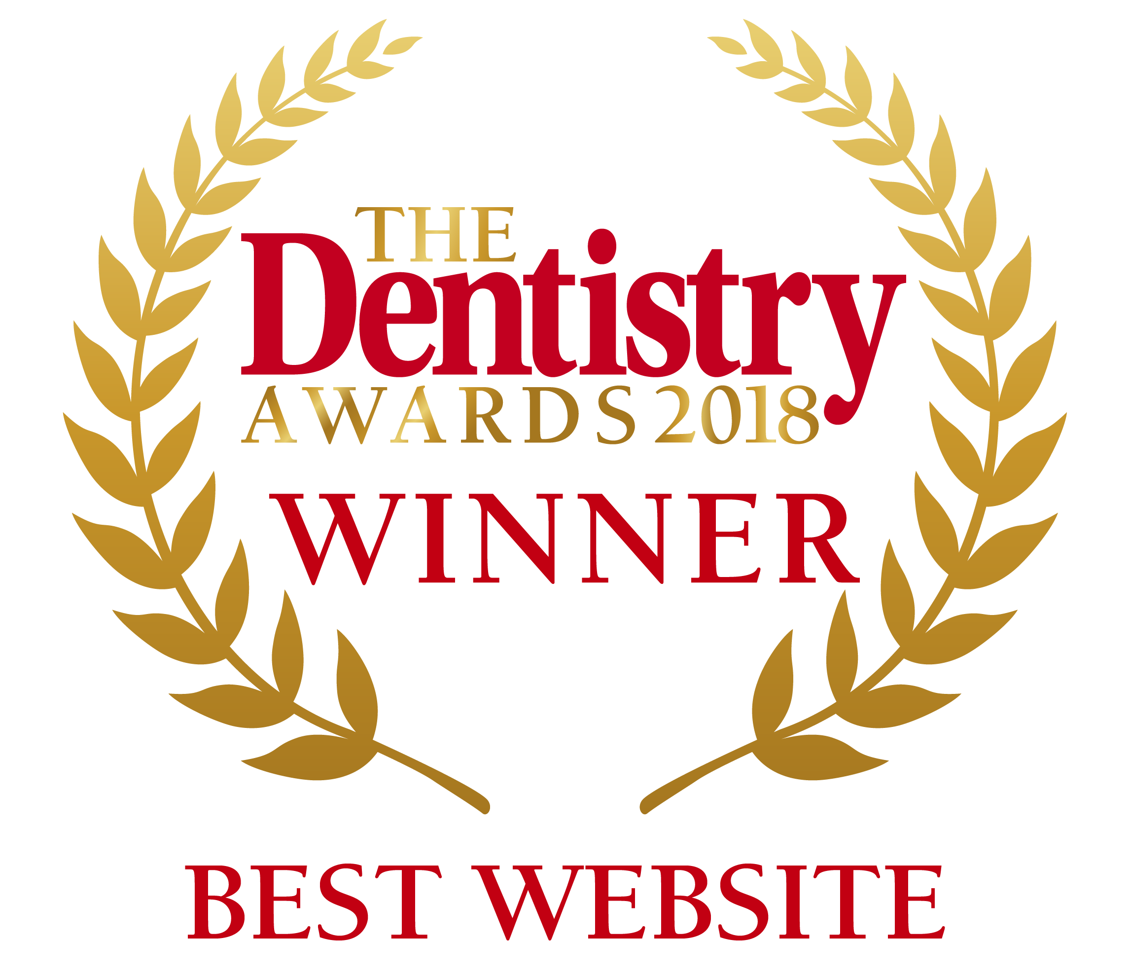 Dentistry Award winner 2018 - Best Website.png