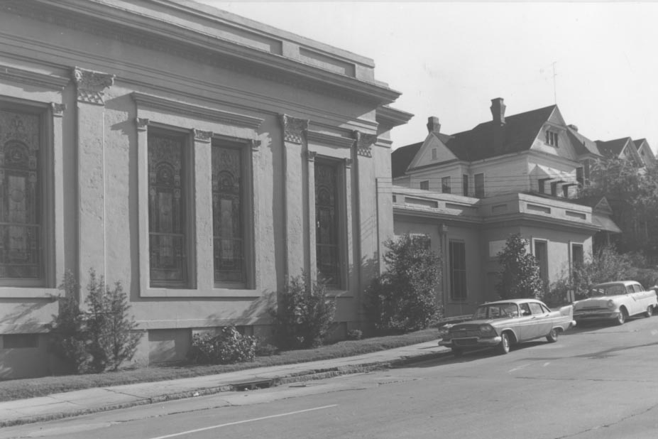 Temple Beth Israel at Spring and Cherry Street. ca, 1950's