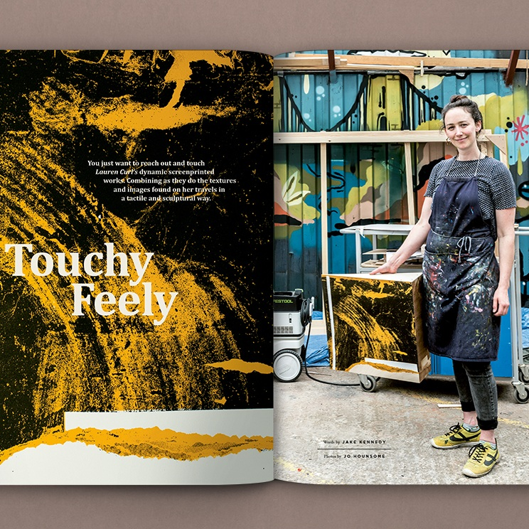Read more about my work in  Pressing Matters magazine, Issue 8 , August 2019.