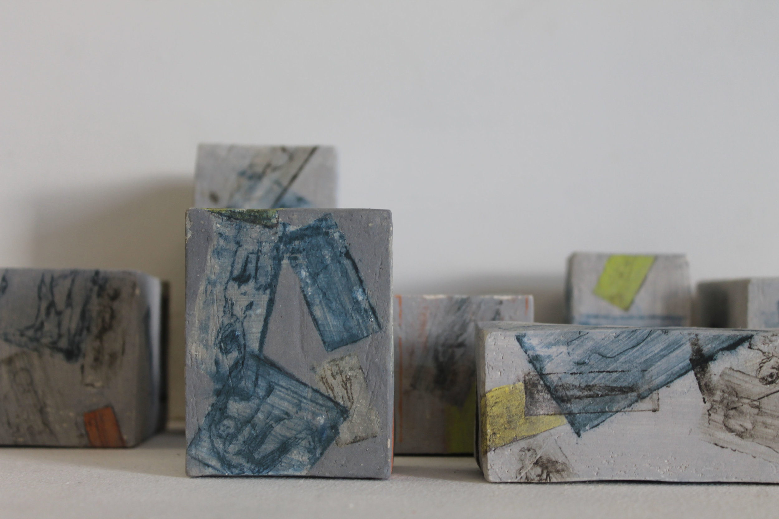 Colliding Forms with Helen Lavery(Ceramic Bricks, Handprinted Etchings) III.jpg