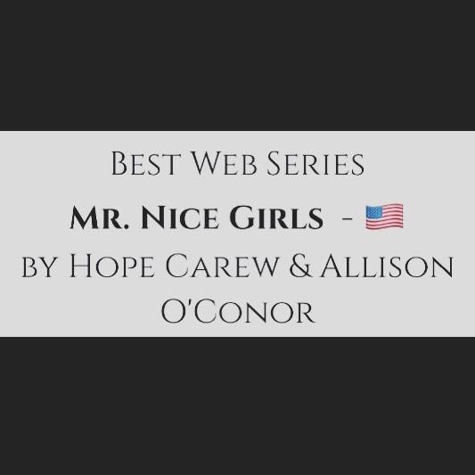 "WOOOO! Mr. Nice Girls won ""Best Web Series"" in the Global Film Festival Awards! 💫 💫💫"