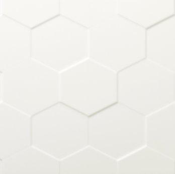 Center Hex White