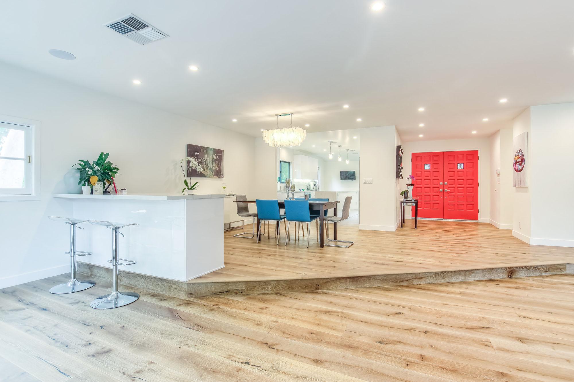 Complete home remodel in Sherman Oaks living room small1.jpg