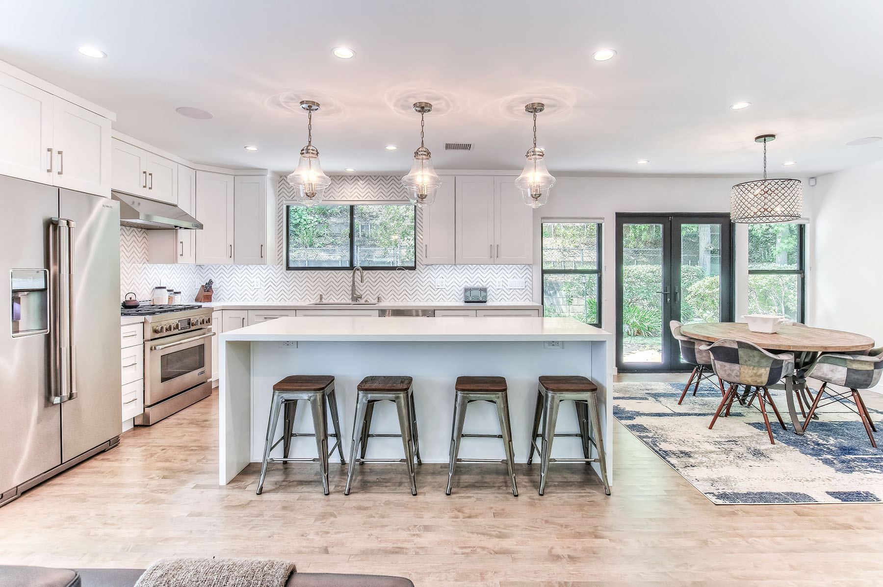 studio city complete remodel kitchen and dining room open floor small.jpg