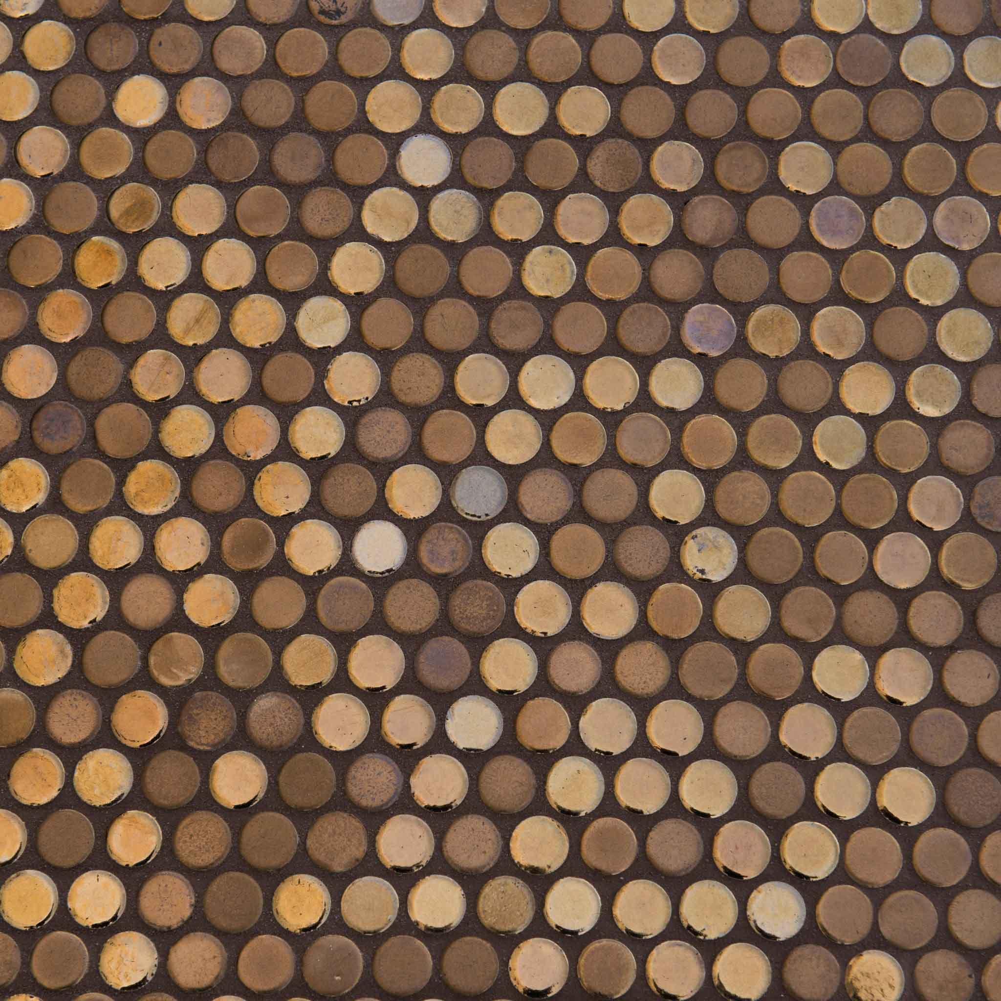 Confetti Round Bronze