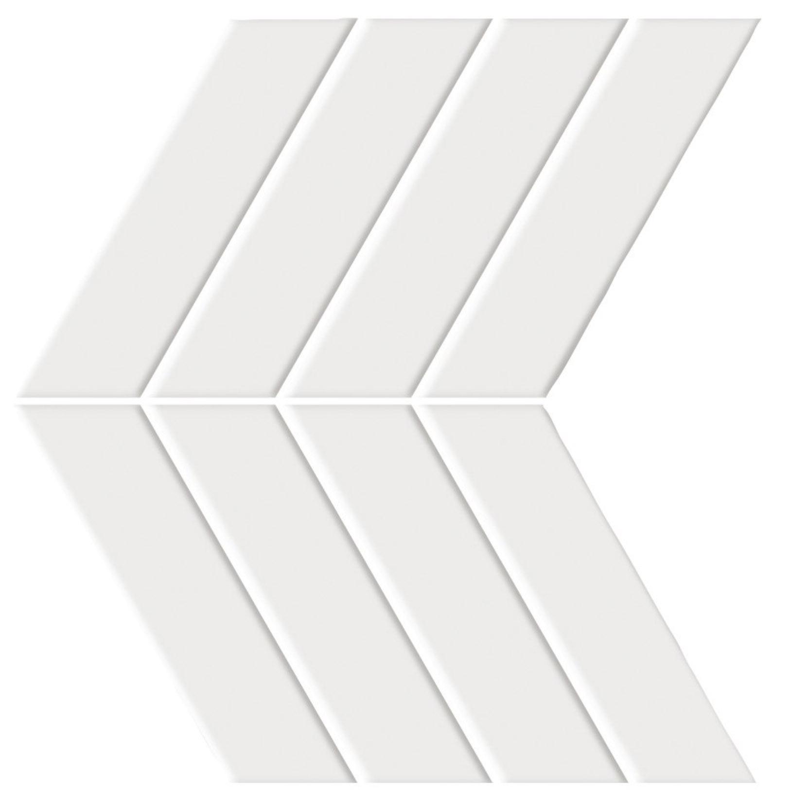 Shape Chevron White