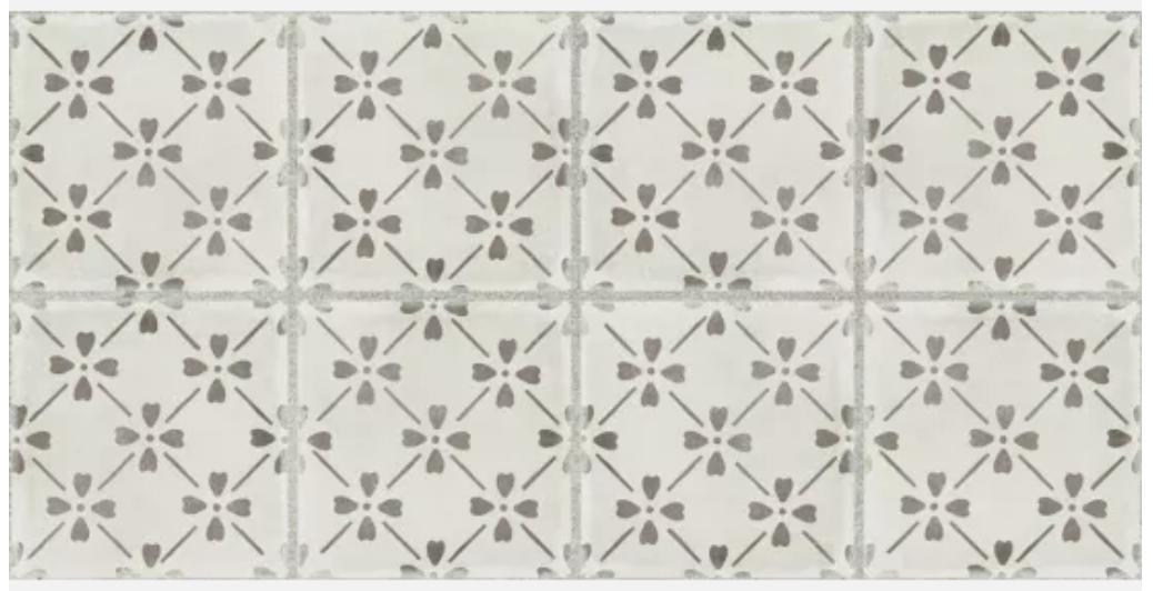 Palazzo Vintage Grey Bloom
