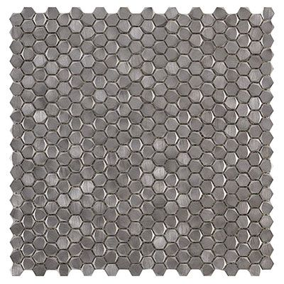 Gravity Aluminium Hexagon Silver
