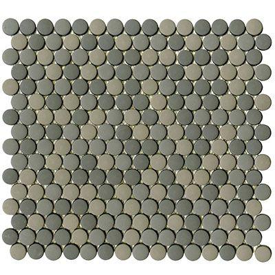 Glaze Dots Greys Matt