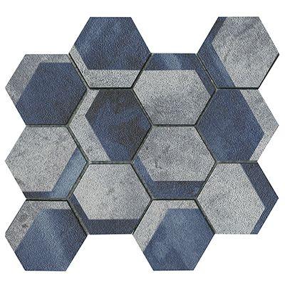 Universe Hexagon Blue