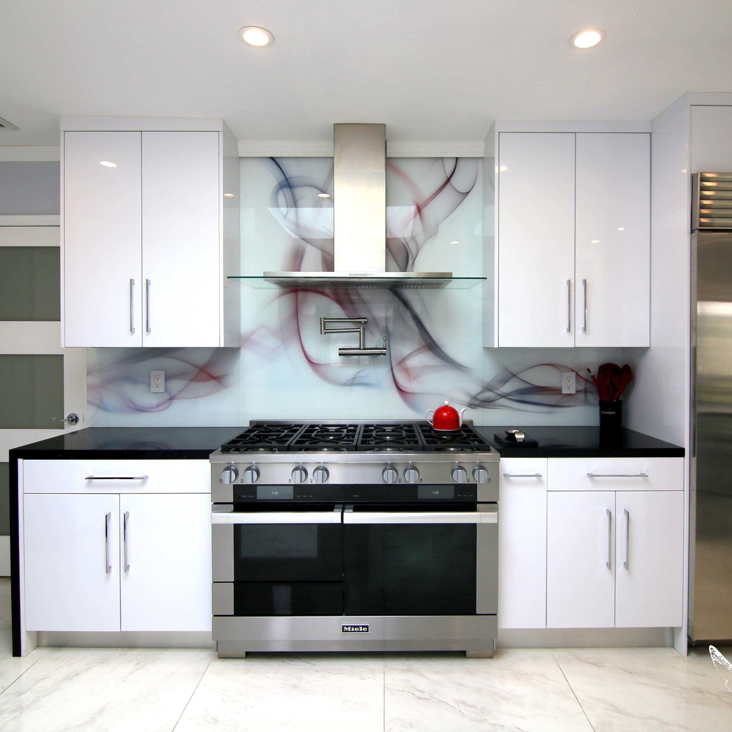 Decorative Glass Surfaces -