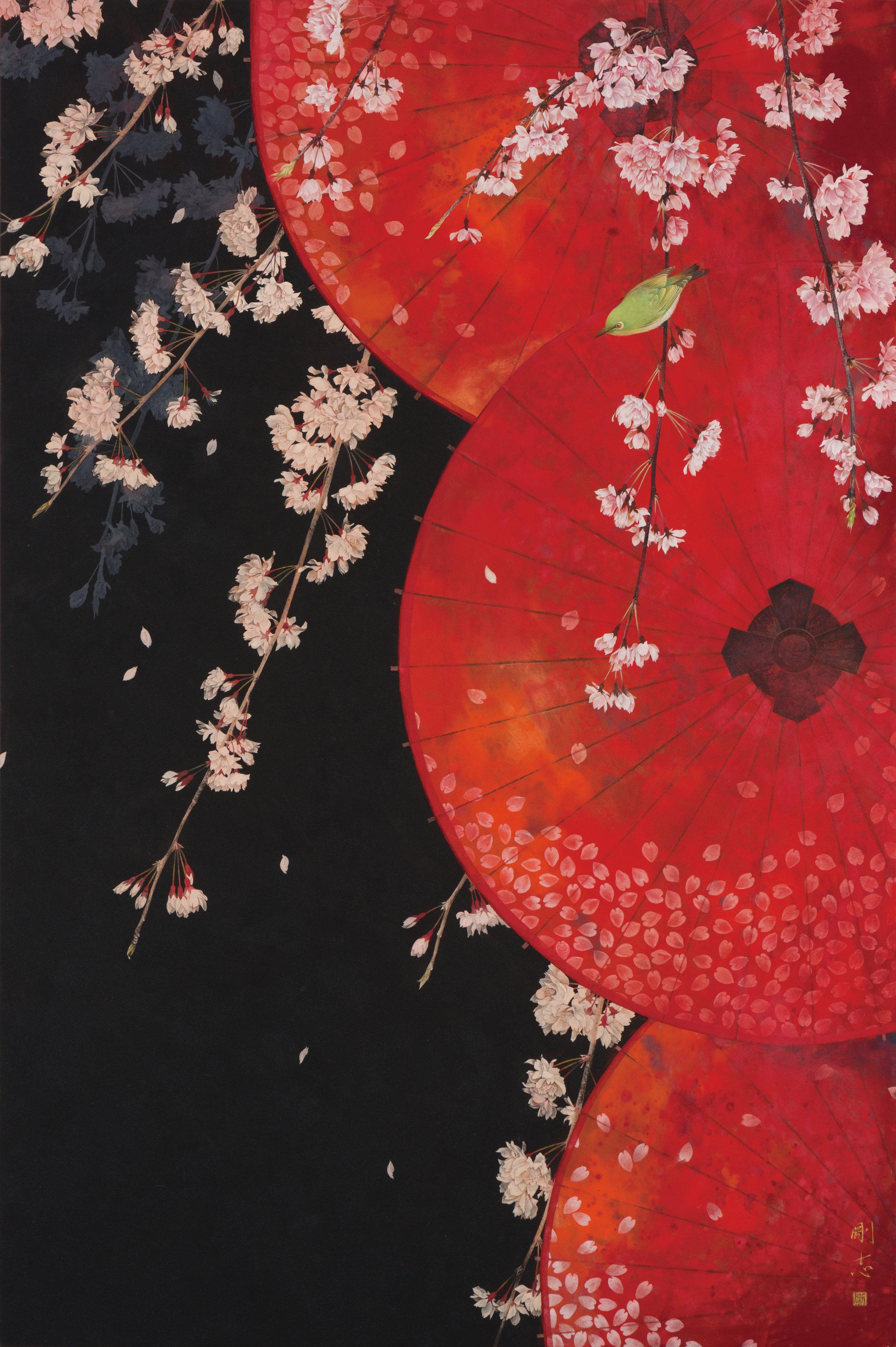 Takashi Nagoya 'A Long Dream of Spring' - 2013