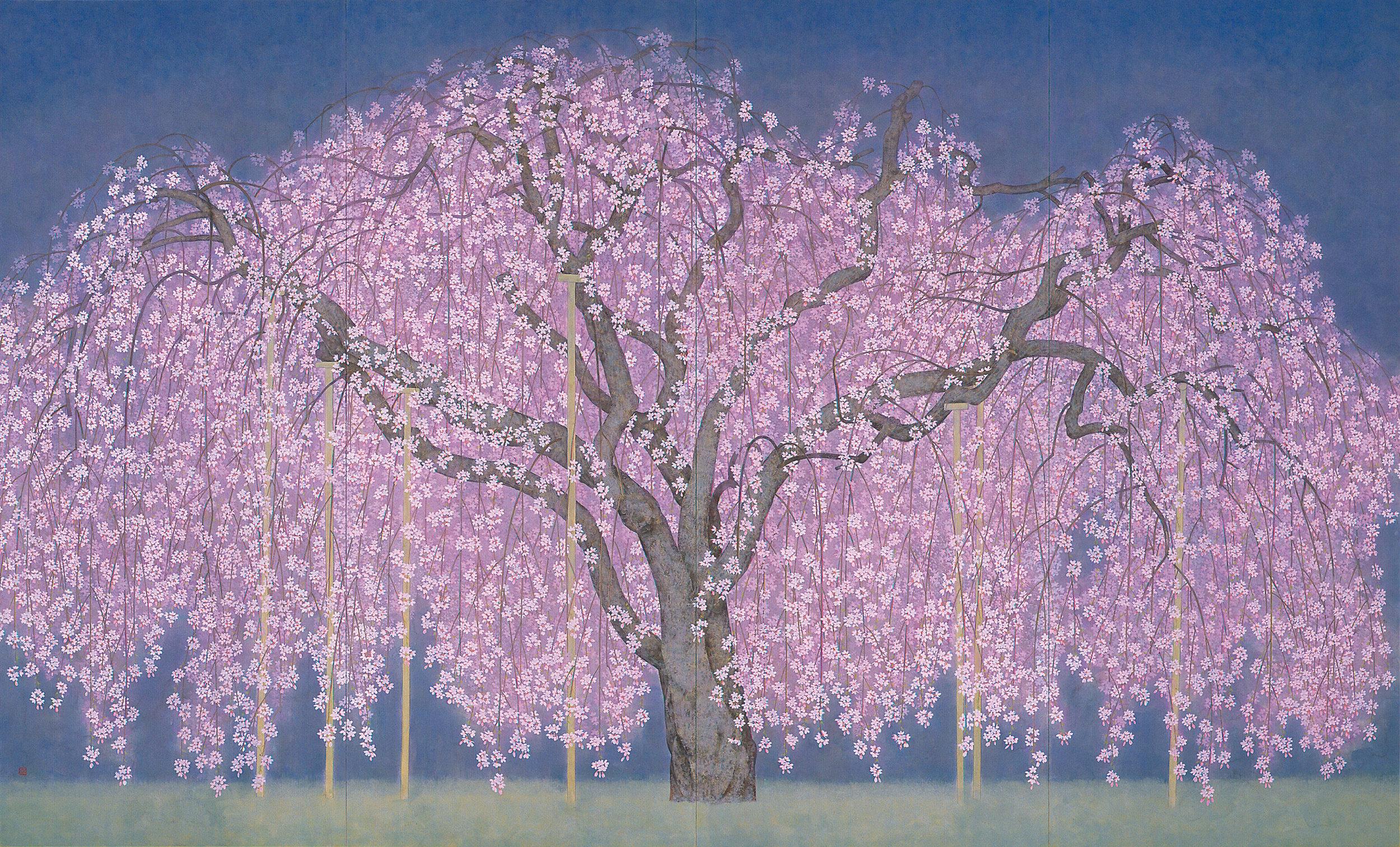 """Nobuyoshi Watanabe """"Spring evening"""" 2001"""