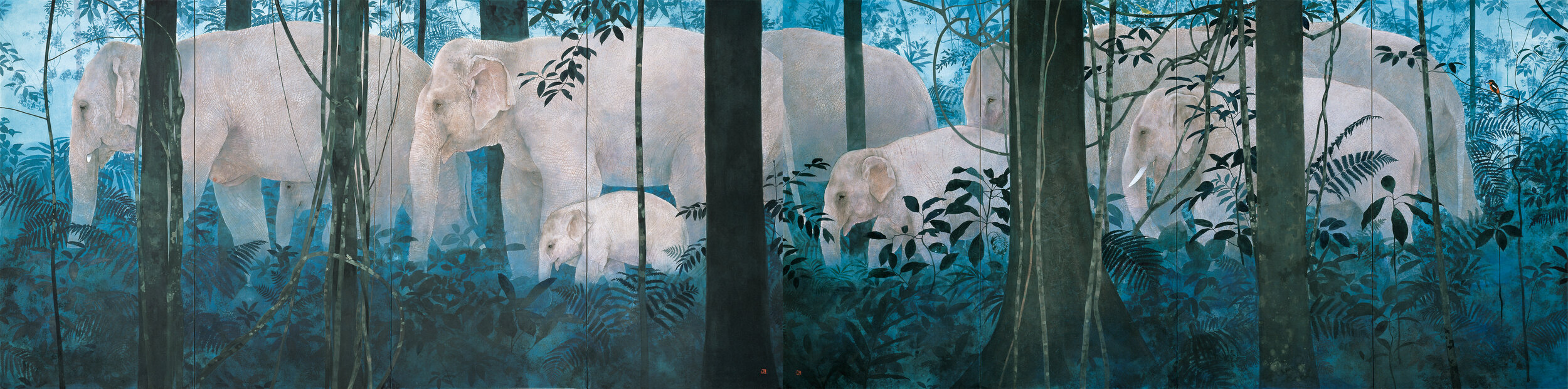 Yoichi Nishino 'Family in the Forest' 2006