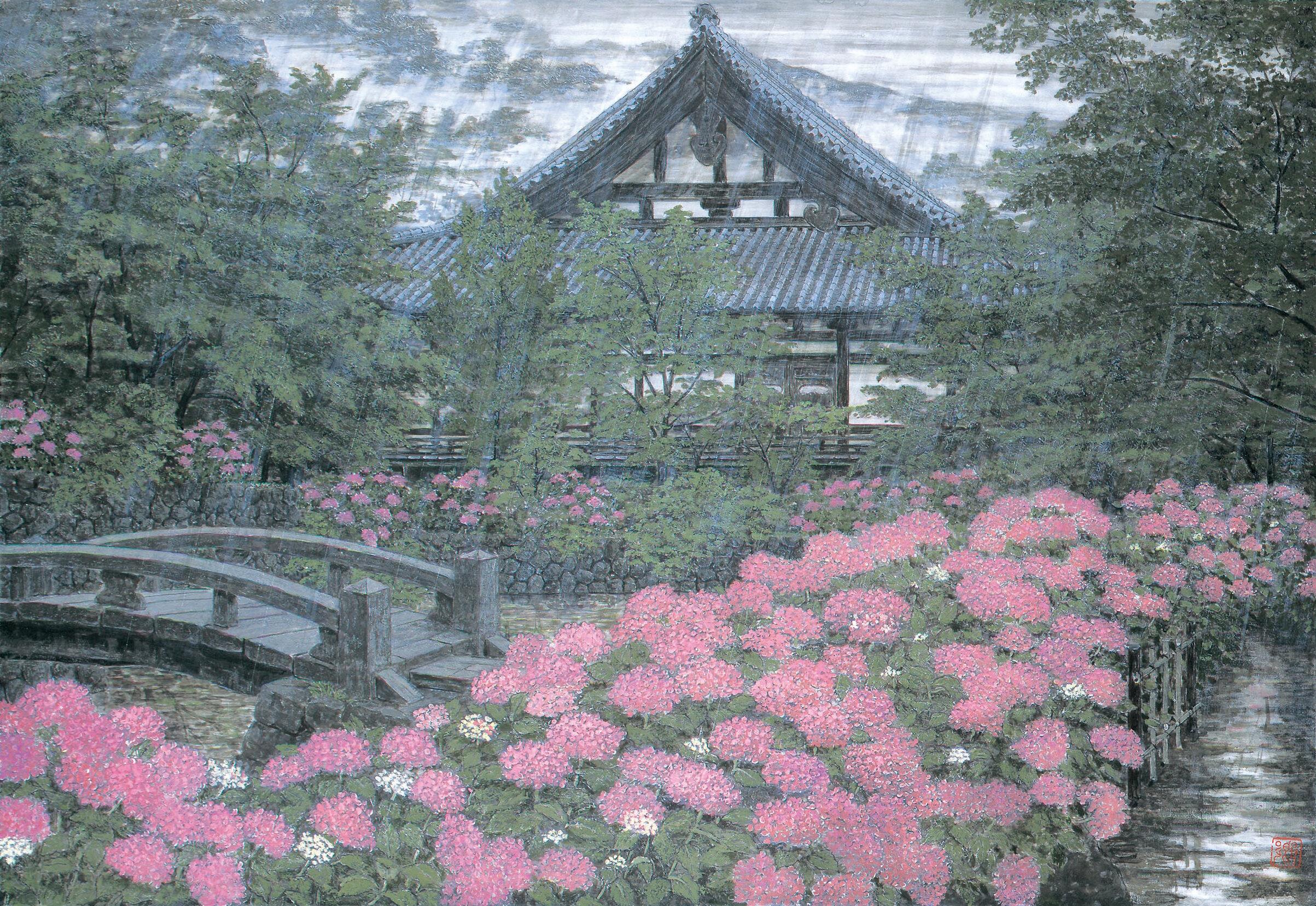 Kei Shibusawa 'syurousaiun(珠楼綵雲)' 1995