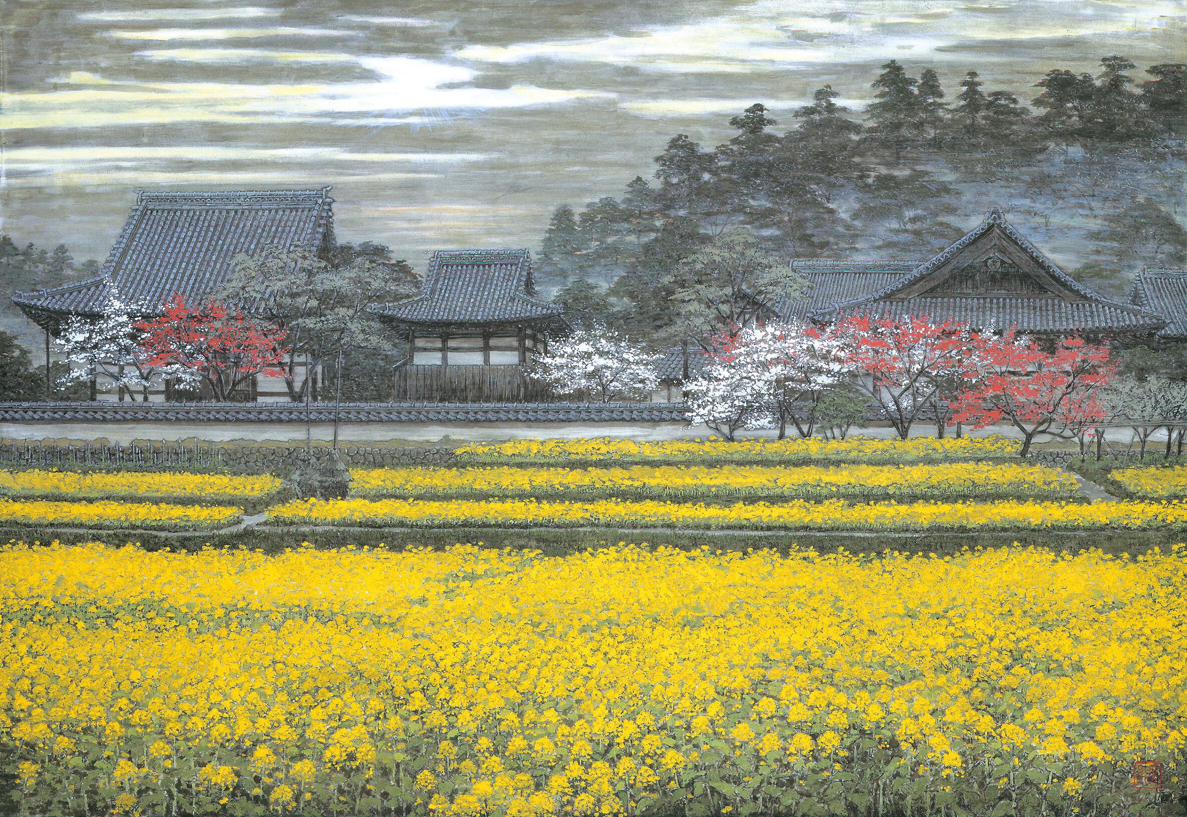 Kei Shibusawa 'Omushungyo(黄霧春曉)' 1995