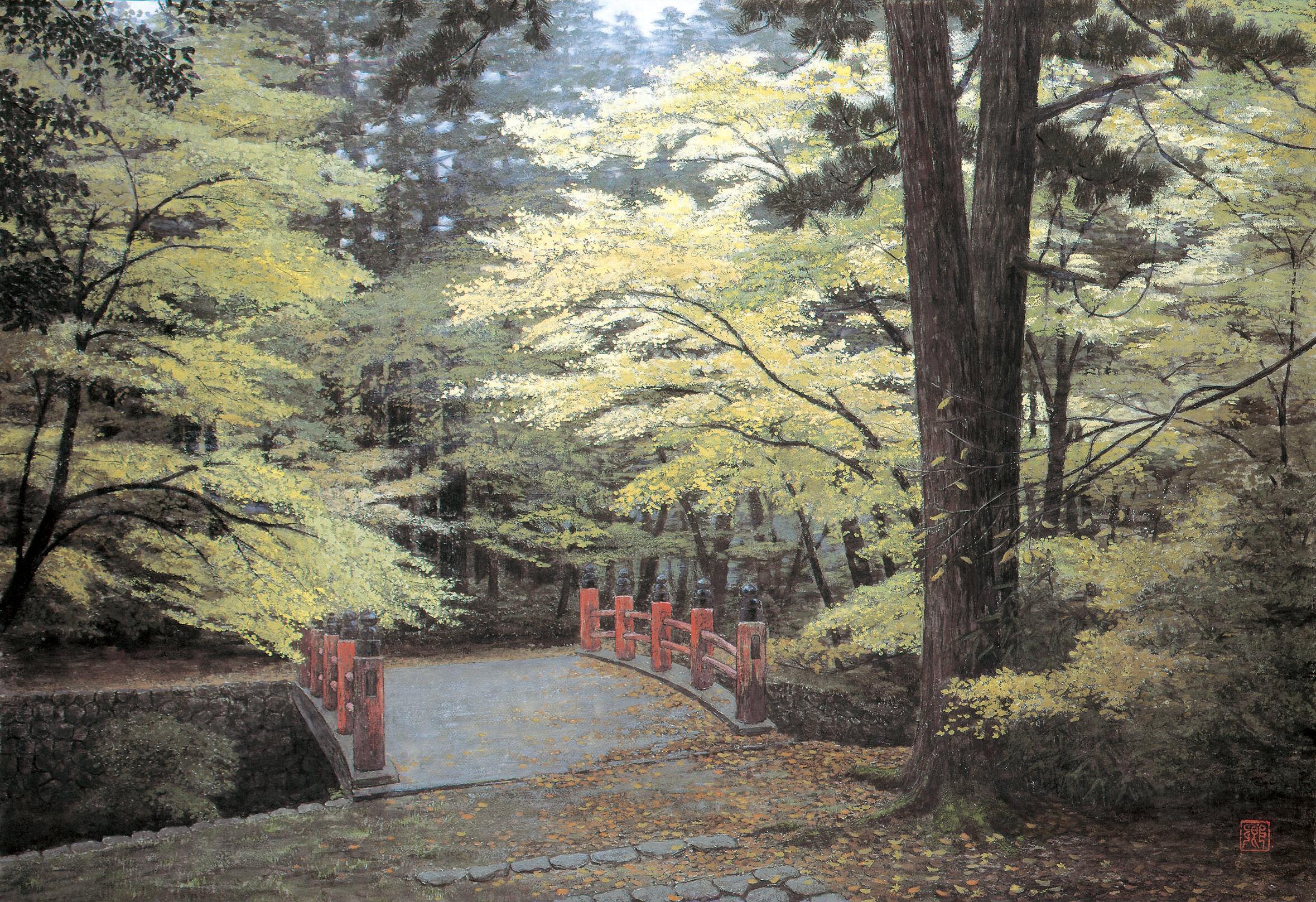 Kei Shibusawa 'Irohaseiei (色葉静影)' 1993