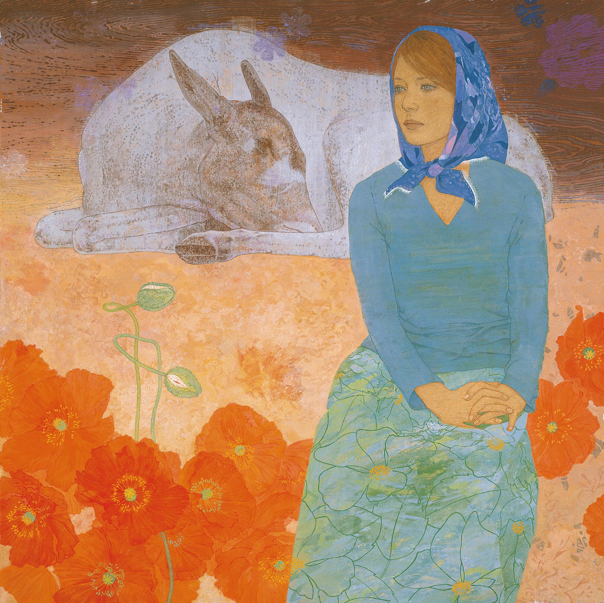 藤原まどか《庭のぬし》2006
