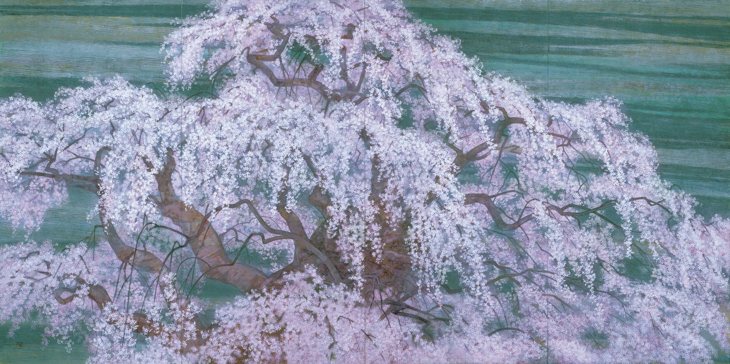 Hayashi Jun'ichi 'A Weeping Cherry Tree' 2002
