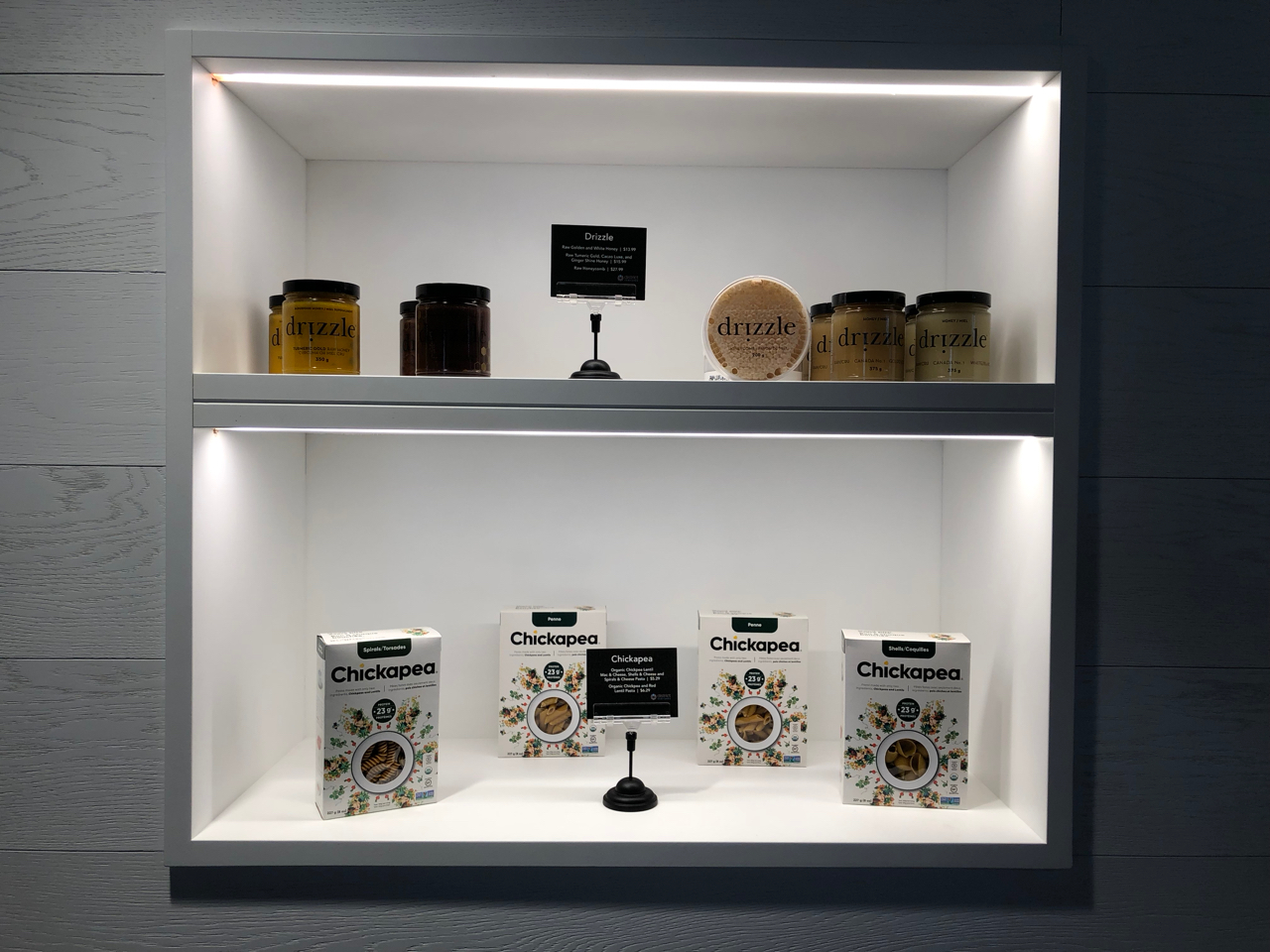 Product Display Shelving Lights