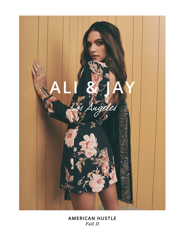 Ali & Jay Lookbook styled by Brigid
