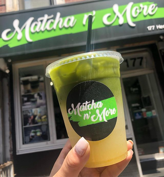 Matcha Monday's featuring our Yuzu Matcha Lemonade - citrusy, sweet, tarty, and refreshing all in one